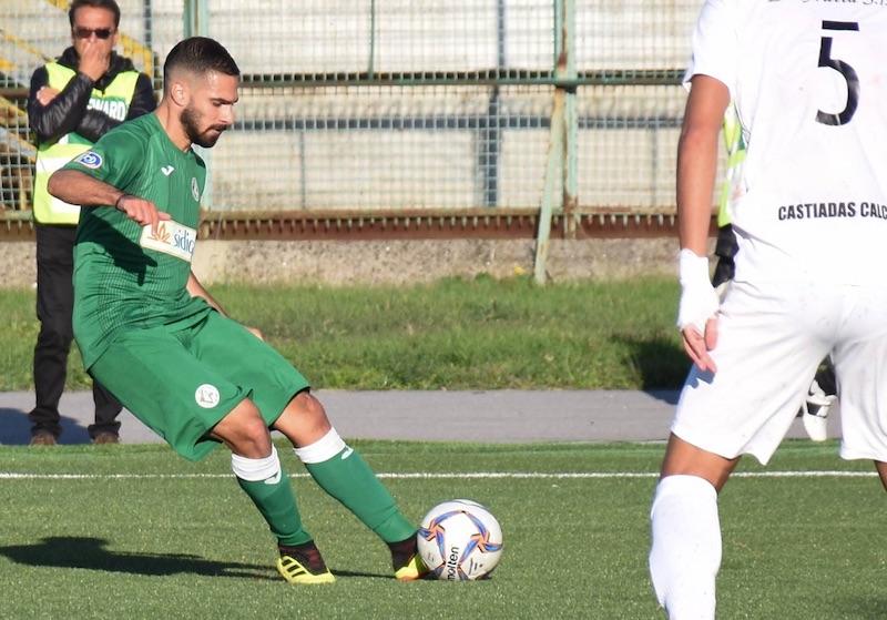 """gerbaudo-avellino-azione Avellino – Gerbaudo: """"Felice per il gol. Primo posto? Noi ci crediamo"""""""
