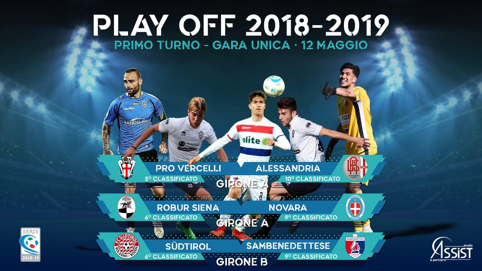 playoff-2018-19-legapro Scattano i playoff di Lega Pro: cinque giocatori di Studio Assist & Partners subito in campo
