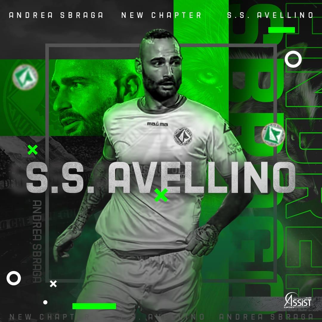 sbraga-avellino Andrea Sbraga è un nuovo giocatore dell'Avellino